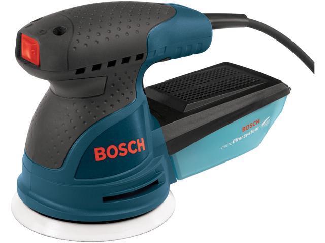 """Bosch Power Tools ROS20VSK 5"""" Variable Speed Palm-Grip Random Orbit Sander Kit"""