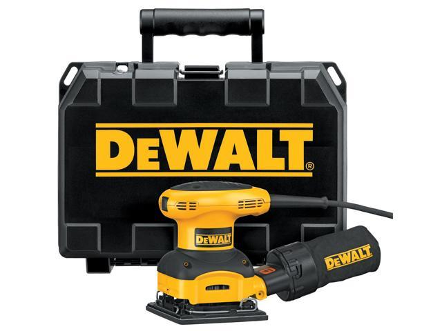 Dewalt D26441K 1/4 Sheet Heavy Duty Palm Grip Sander Kit