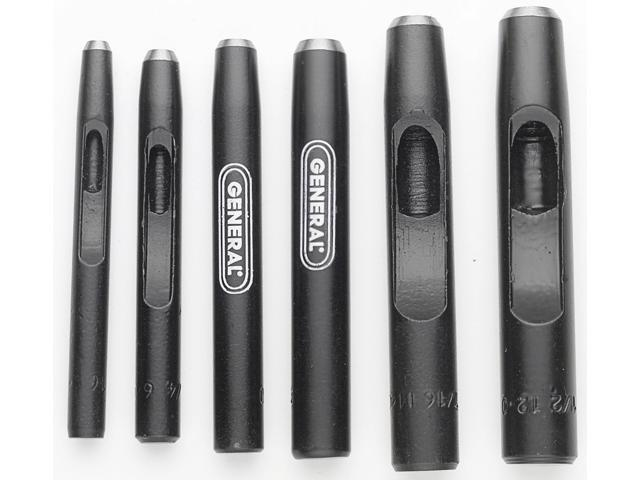 GENERAL TOOLS 6 Piece Steel Punch Set