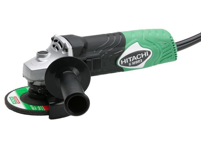 "Hitachi Power Tools G12SR3 4-1/2"" Disc Angle Grinder"
