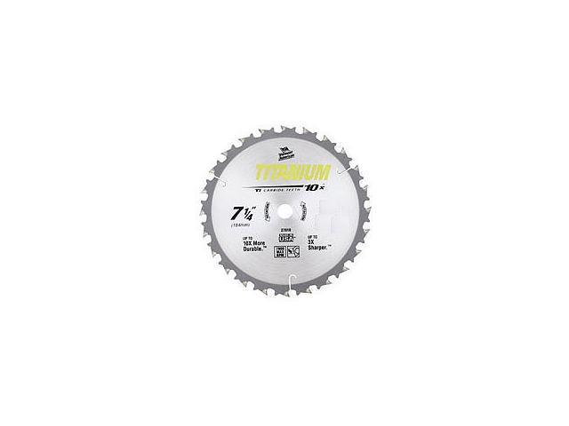 "Vermont American 27823 8-1/2"" 24 TPI 10X Titanium™ Carbide Circular Saw Blades"