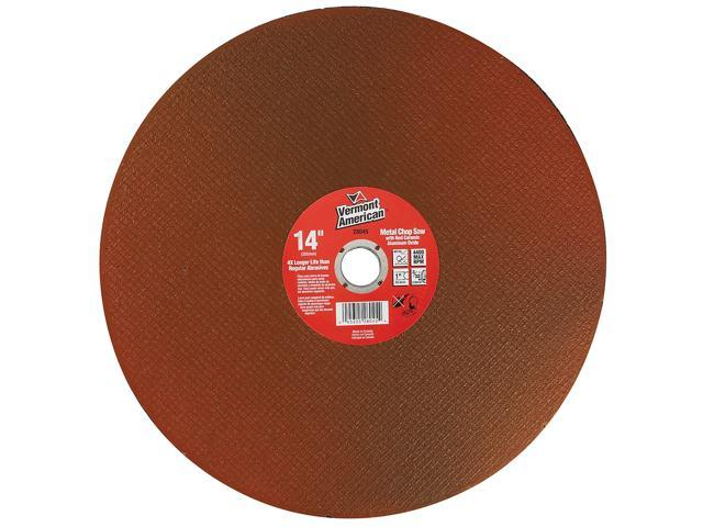 """Vermont American 28045 14"""" High Performance Abrasive Wheels For Cutting Steel"""
