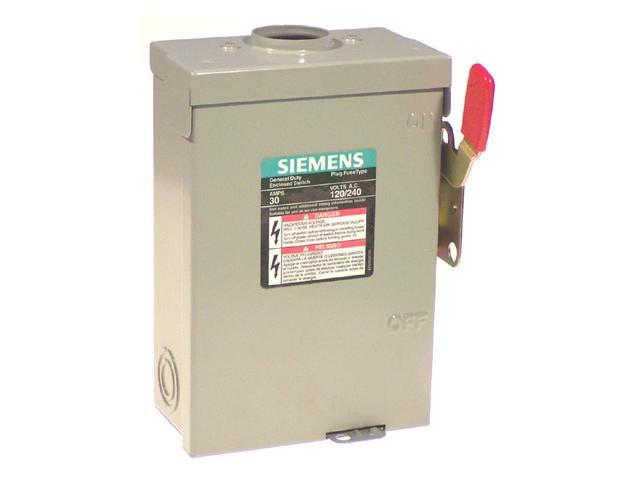 Siemens LF211NRU Outdoor Safety Switch
