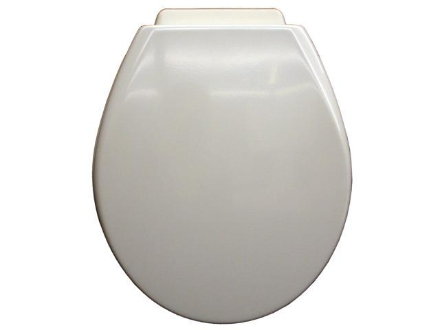 Mayfair 47XC 000 White XCITE!® Round Toilet Seat