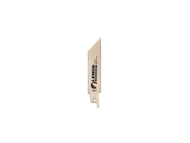 """Lenox 20552-418R 5 Count 4"""" 18 TPI Metal Reciprocating Blades"""