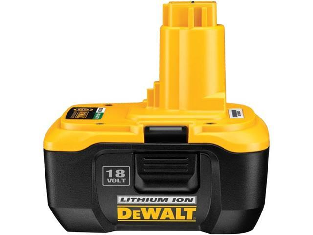 B & D DEWALT POWER TOOLS 18 Volt Heavy Duty Battery Pack