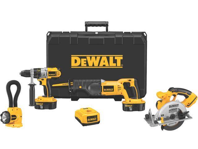 Dewalt DCK450X 4 Piece 18 Volt Combination Tool Kit
