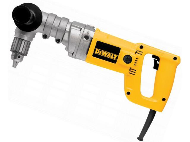 """Dewalt DW120K 1/2"""" Right Angle Drill Kit With Side Handle"""