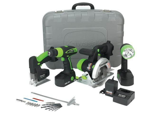 Alltrade 840055 19.2 Volt 4 Piece Tool Kit