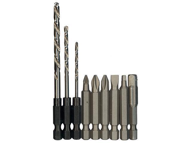 BOSCH                                    10 piece Drill & Driver Bit Set