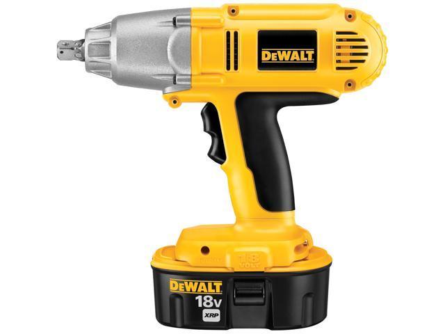 Dewalt DW059K-2 18 Volt Cordless High Torque Impact Wrench Kit