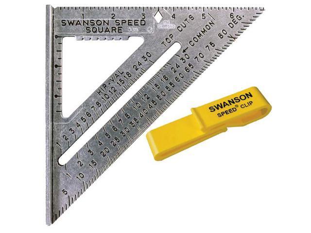 Swanson Tool S0101C Value Pack Speed® Square