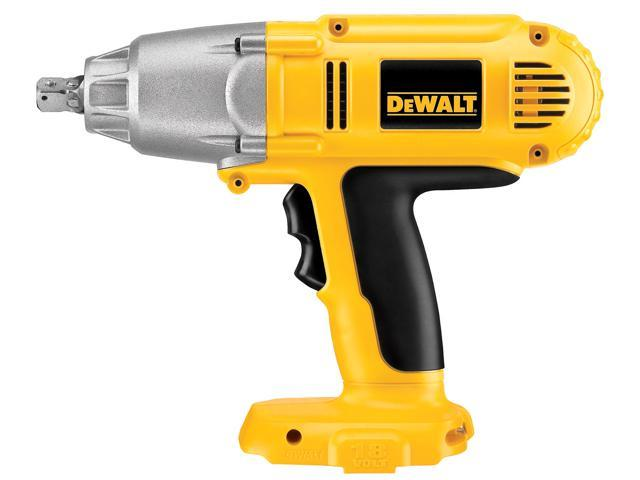 "Dewalt DW059B 1/2"" 18 Volt Cordless Impact Wrench Tool Only"