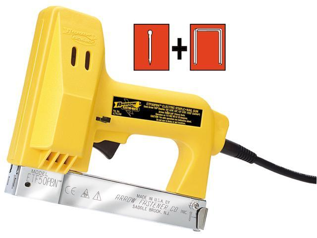 Arrow Fastener Etf50pbn Electro Matic Staple Gun Tacker