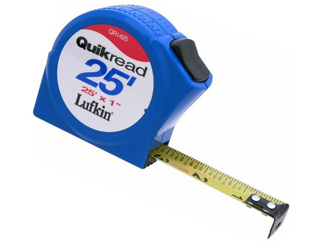 how to read a lufkin tape measure