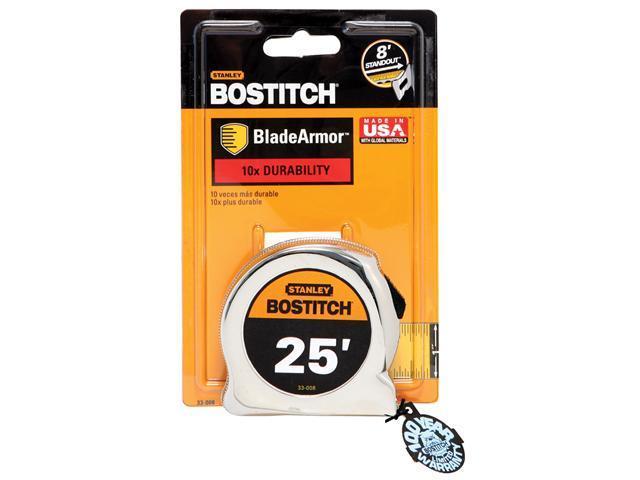 """Bostitch Stanley 33-008 1"""" X 25' Bostitch® Tape With BladeArmor™"""