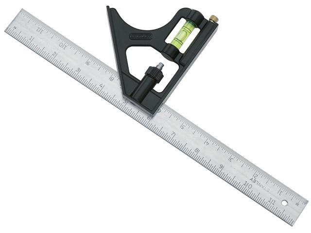 """Stanley Hand Tools 46-222 12"""" Combination Square"""