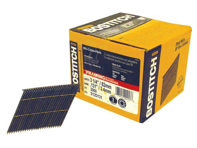 Bostitch Stanley S12D131-FH 2,000 Count 3-1/4