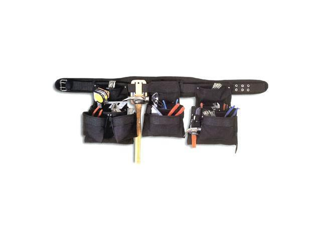 CLC 5605 BLACK 5 Piece Combo Set 18 Pocket Black Professional Carpenter's Tool Belt