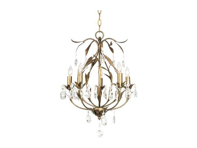 Quoizel SO5005BO Sonata Bolivian Bronze Chandelier with 5 Lights