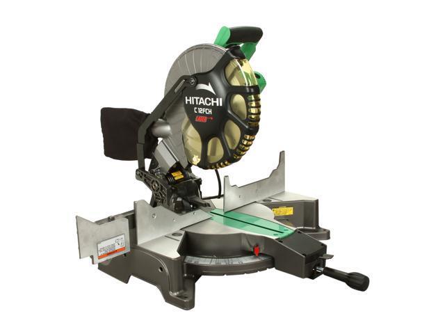 """Hitachi C12FCH 12"""" Compound Miter Saw with Laser Marker"""