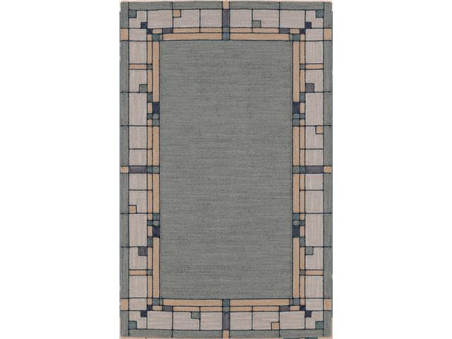 Shaw Living Nexus Glass Block Area Rug Ecru 3' 6