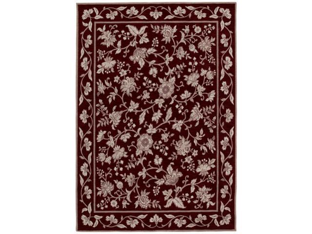 Shaw Living Arabesque Coventry Area Rug Cannon Black 2'  x 2' 9