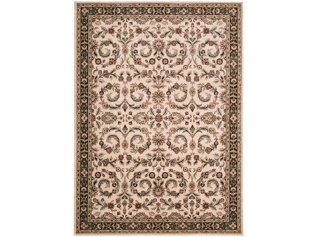 Shaw Living Arabesque Juliard Area Rug Ivory Cream 7' 9