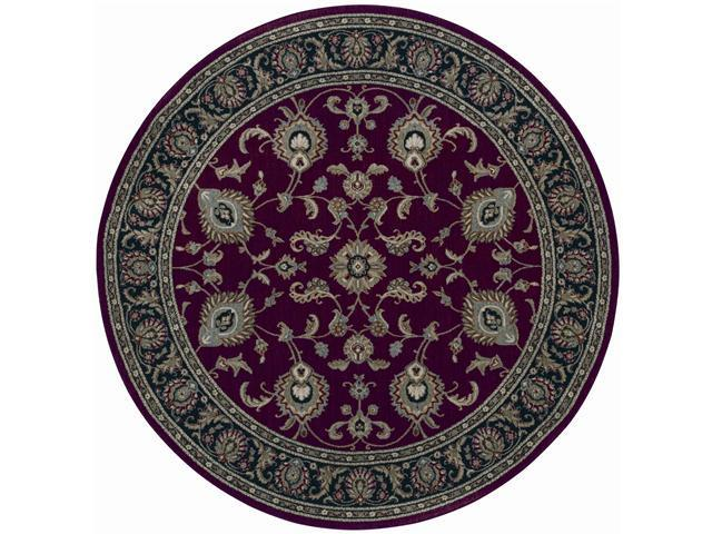 Shaw Living Arabesque Coventry Area Rug Firebrick Red 7' 5
