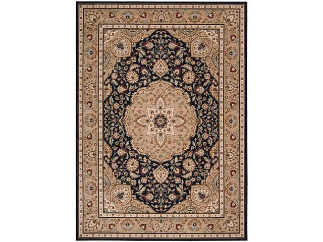 Shaw Living Arabesque Easton Area Rug Cannon Black 9' 6