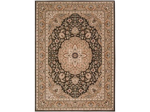 Shaw Living Arabesque Easton Area Rug Cocoa 9' 6