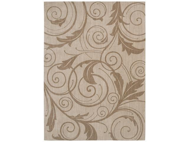 Shaw Living Pacifica Gillian Area Rug Ivory Cream 2'  x 2' 9