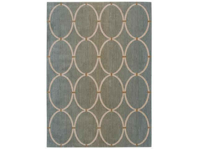 Shaw Living Pacifica Legacy Area Rug Pale Leaf 3' 6