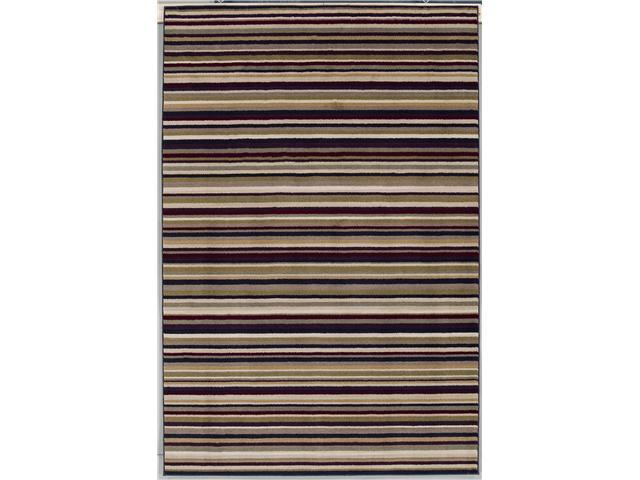 "Shaw Living Modern Elements Taylor Area Rug Black 5' x 7' 4"" 3P10505500"