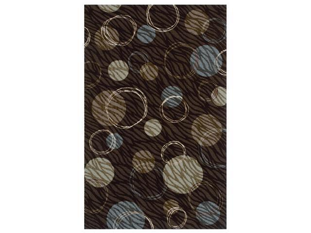 Shaw Living Centre Street Hemisphere Area Rug Brown 5' x 8' 3P18403700