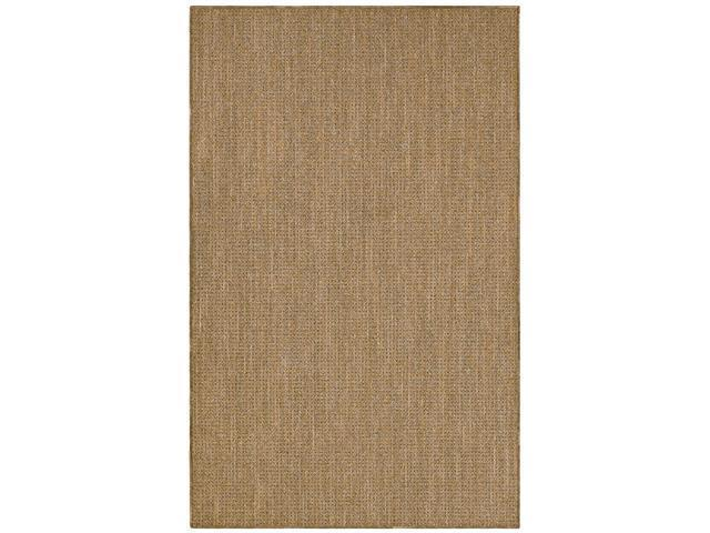Shaw Living Natural Expressions Rattan Area Rug Gold Coast 7' 6