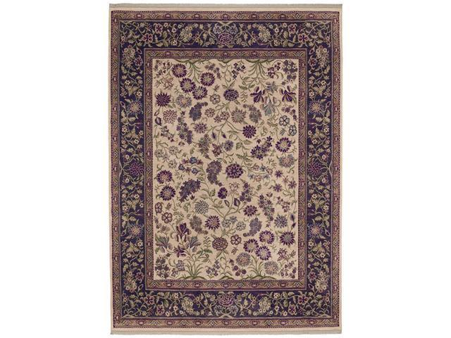 "Shaw Living Kathy Ireland Home Int'l First Lady Grand Expressions Area Rug Palace Stone 9' 6"" x 13' 1"" 3V17608100"