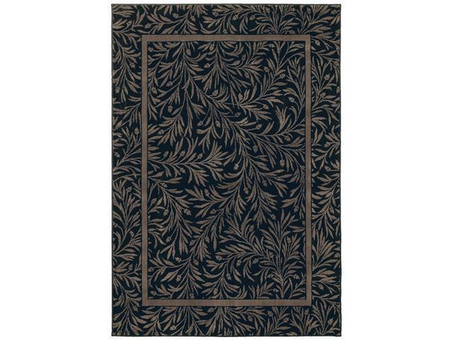 Shaw Living Timber Creek By Phillip Crowe Englewood Area Rug Onyx 2' 2