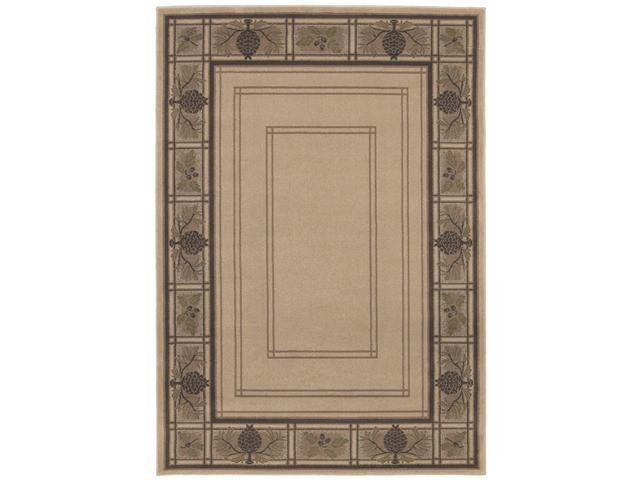 Shaw Living Timber Creek By Phillip Crowe Bungalow Area Rug Beige 6' 6