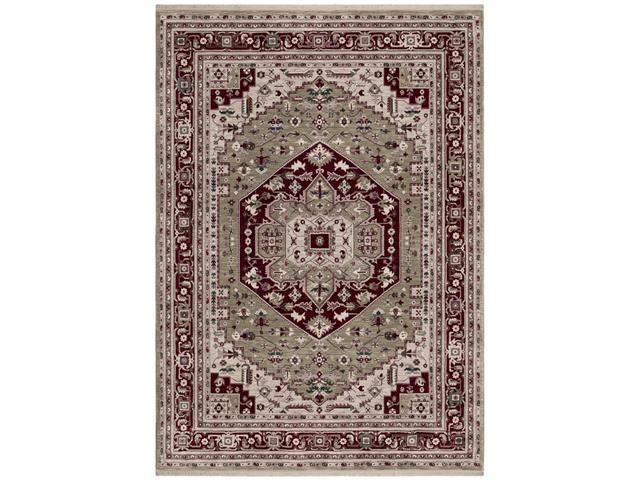 Shaw Living Renaissance Bergamo Area Rug Light Green 7' 9