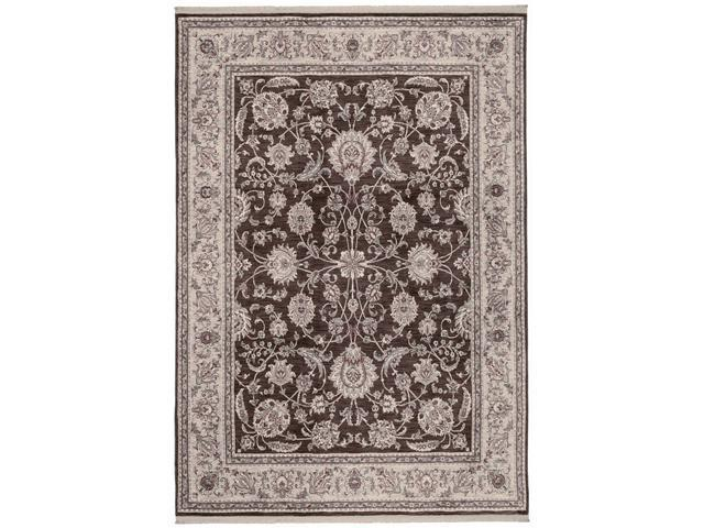 Shaw Living Renaissance Monaco Area Rug Dark Brown 7' 9