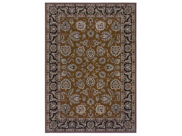 Shaw Living Inspired Design Chateau Garden Area Rug Spice 3' 10