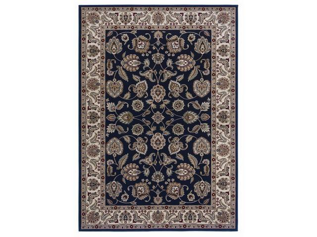 Shaw Living Inspired Design Chateau Garden Area Rug Black 7' 8