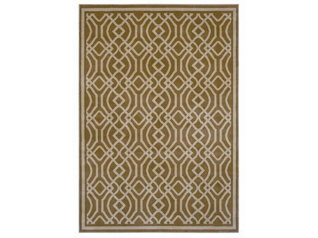 Shaw Living Inspired Design Kingsley Area Rug Gold 7' 8