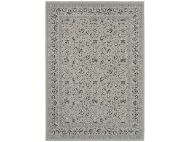 Shaw Living Woven Expressions Platinum Shelburne Area Rug Almond 7' 8