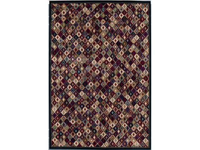 Shaw Living Kathy Ireland Home Gallery Desert Bloom Area Rug Multi 9' 3