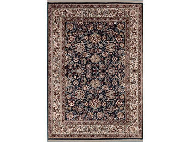 Shaw Living Kathy Ireland Home Gallery European Elegance Area Rug Black 2' 2