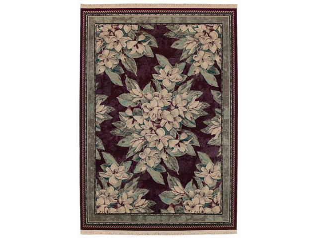 "Shaw Living Kathy Ireland Home Essentials Sonnet Area Rug Garnet 3' 10"" x 5' 7"" 3X72207800"