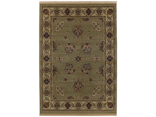 "Shaw Living Kathy Ireland Home Essentials French Countryside Area Rug Celadon 3' 10"" x 5' 7"" 3X72229330"