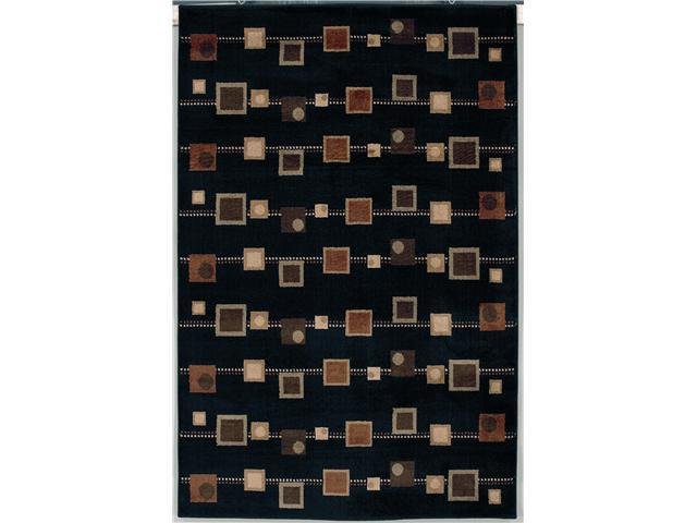 "Shaw Living Accents Cocktail Area Rug Ebony 1' 11"" x 3' 1"" 3X80708500"